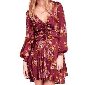 NWT FREE PEOPLE MORNING LITE MINIDRESS -A347